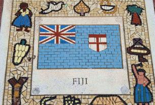 Fiji Mosaic from Principality Stadium, Cardiff