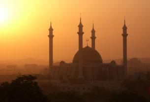 Mosque in Abuja, Nigeria