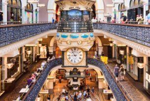 Shopping Mall in Sydney, Australia