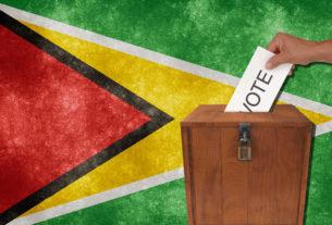Voting in Guyana